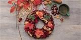 Vyrobte si podzimní věnec z kaštanů