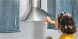 Jak rychle a snadno vyčistit digestoř