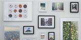 33 nápadů, jak si vystavit fotky a zkrášlit interiér