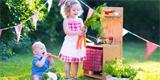 Nejkrásnější kuchyňky na zahradu pro děti: 30 nápadů, jak si je vyrobit. Inspirujte se