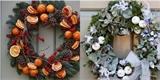 Vyrobte si vánoční věnec na dveře. Tady je 35 krásných nápadů pro inspiraci