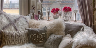 Styl i nádech luxusu dodají interiéru kožešiny. Vyberte si tu pravou. Kde a za kolik?