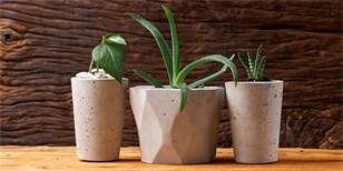 Betonový květináč je originální, praktický a levný. Vyrobte si ho podle našeho návodu