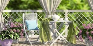 Nejlepší nápady pro malé balkóny. Inspirujte se v galerii